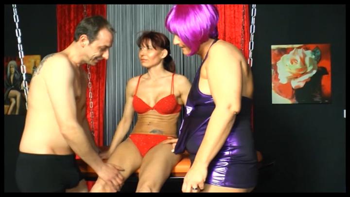German horny threesome